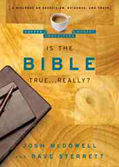 Is The Bible True... Really? By Josh McDowell and Dave Sterrett, Skepticism, skeptics, Holy Bible, Novella, The Coffeehouse Chronicles, Books For Evangelism, evangelism, book review,