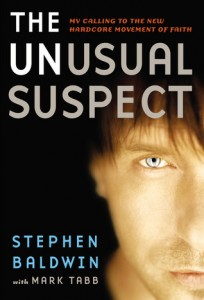 The Unusual Suspect by Stephen Baldwin, Stephen Baldwin testimony, Stephen Baldwin conversion, Baldwin brothers, Alec Baldwin brother, book review, books for evangelism, evangelism,