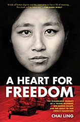 A Heart of Freedom, Chai Ling, Tiananmen Square, Seekers, Books For Evangelism, evangelism, book review,