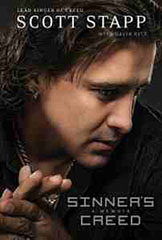 Sinner's Creed, Creed, Scott Stapp, Rock Band, Artist, Musician, Memoir, Alcohol Addiction, Childhood Abuse, Drugs Addiction, Books For Evangelism, evangelism, book review, biography,