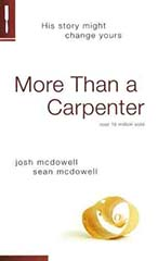 More Than a Carpenter by Josh McDowell and Sean McDowell, Christianity, Skepticism, Seekers, Books For Evangelism, evangelism, book review,
